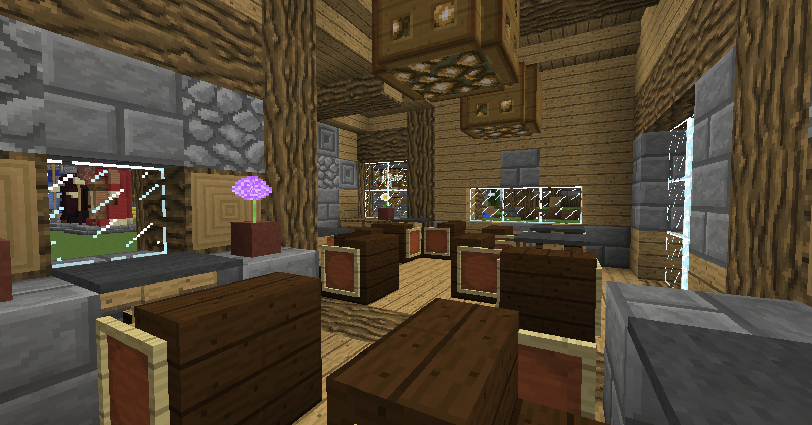 Rustic Medieval Building Team Recruiting - Creative Mode ...