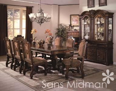NEW Furniture! Large Formal 11 piece Renae Dining Room Set ...