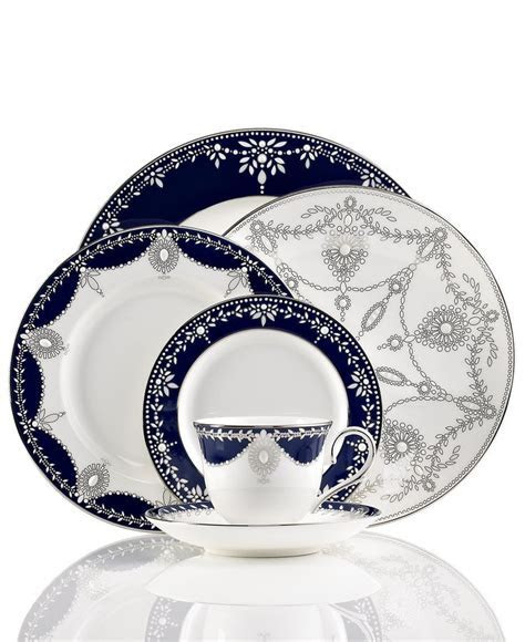 Dinnerware, Empire Indigo Collection   Wedding Registry