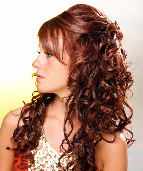 Wedding Hairstyles Curly Hair Half Up   Best Wedding Hairs