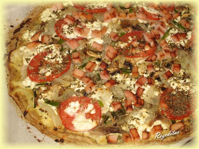 PIZZA DE TOFU