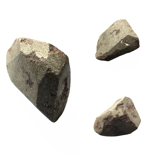 Naturally Magnetic Balinese Badar Besi Stone with Golden Hue revealing Its Potent Energetic Properties