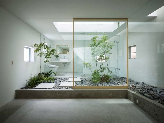 It isn't necessary to give up a precious room in your house, consider converting a connecting area of your home into a natural haven, such as a hallway or reception area; you may find that a little oasis like these provides a beautiful divide between living spaces, and promotes a sense of peace around your property.