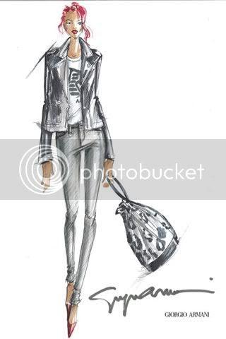 Rihanna For Emporio Armani Underwear and Armani Jeans
