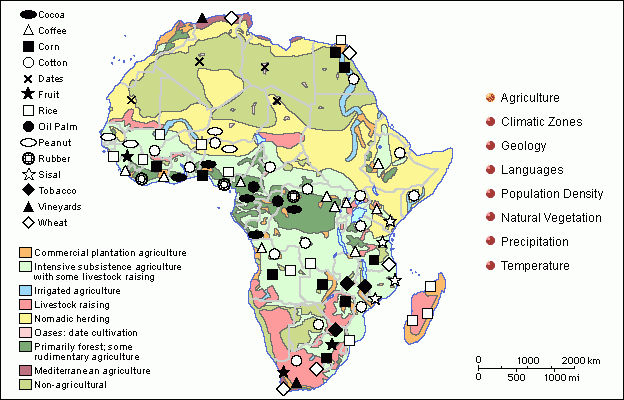 Africa Resource Map | Africa Map