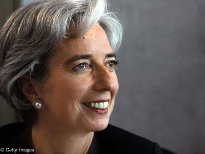 Für Jüdin Christine Legarde bricht nun wie für DEN JUDEN Dominique Strauss-Kahn eine schwierige Zeit an...
