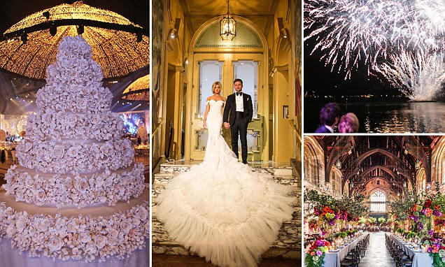Inside the world's most extravagant weddings with million dollar budgets