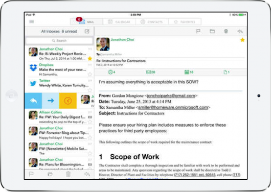 Email client Tipbit goes universal and is now fully compatible with iOS 8 -- AppAdvice