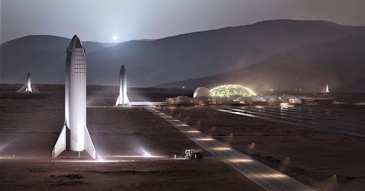 SpaceX gives us a glimpse of its Mars base vision
