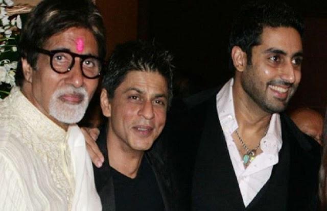 जब शाहरुख खान ने अमिताभ बच्चन के सामने ही अभिषेक बच्चन को कहा- इनके बाप नहीं सिखा सके तो..