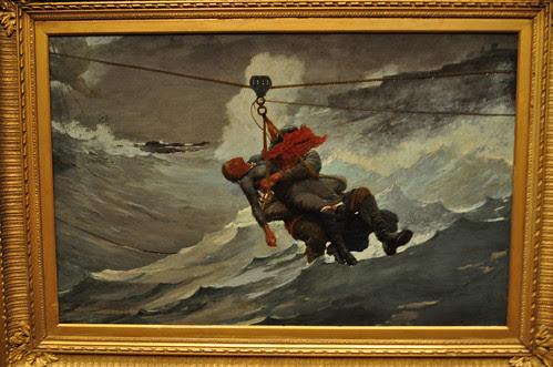 The Lifeline - Winslow Homer
