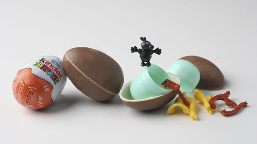 Today in actual good news: Kinder Eggs are now (legally) available in the U.S.