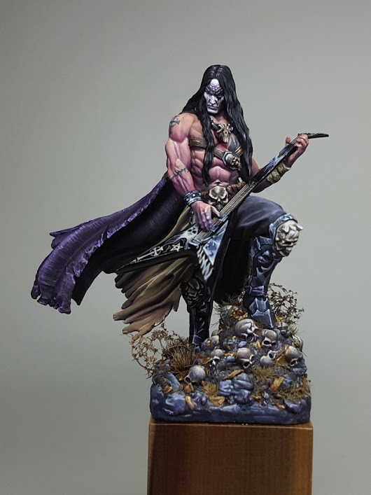 "Seth, the God of Rock! - Nocturna Models by Trent ""Big Deno"" Denison · Putty&Paint"