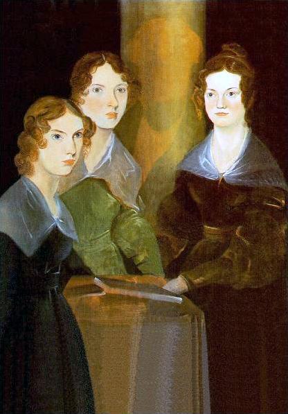 File:Painting of Brontë sisters.png