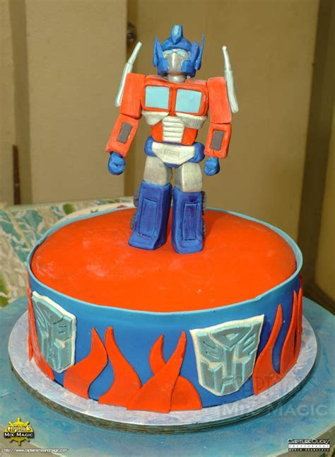 Optimus Prime ? Captain's Mix and Magic / Captain's Sweet