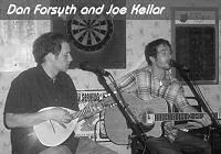 Musicians Dan Forsyth and Joe Kellar