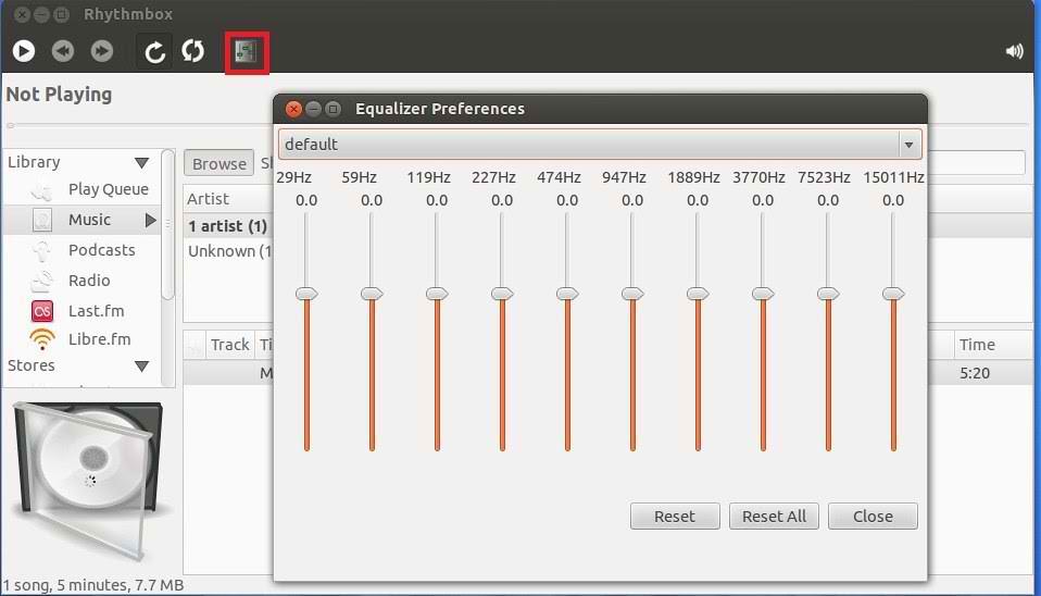 ubuntu equalizer