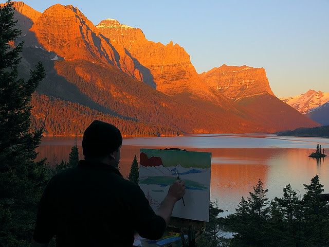 IMG_0948 The Morning of Creation, Glacier National Park