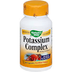 Natures Way Potassium Complex, 99 mg Potency, Capsules - 100 capsules