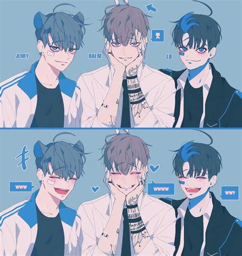 boyy art anime art manga art korean anime