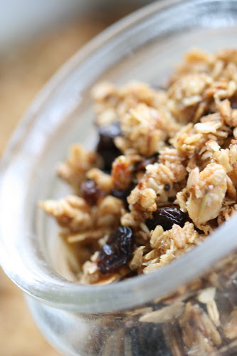 Honey granola / Röstitud meemüsli