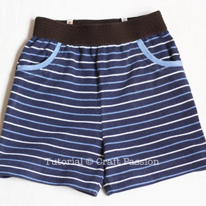 sewing jersey shorts