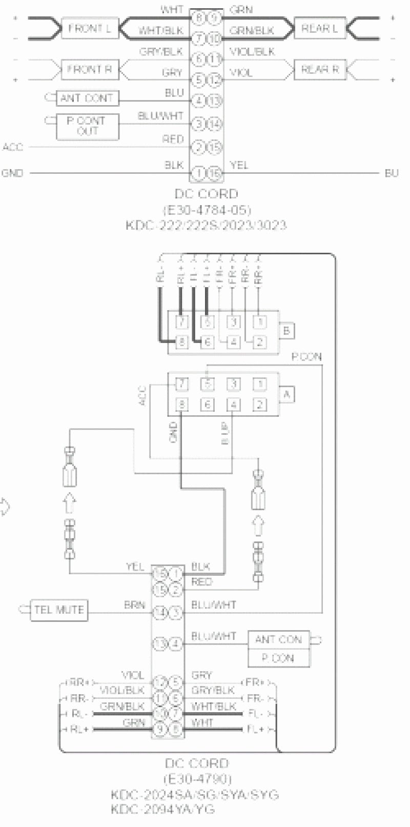 Stereo Wiring Diagram Kenwood