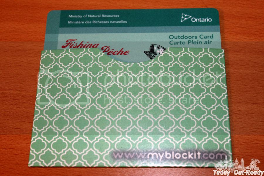 BLOCKIT RFID Blocking Credit Card Sleeve