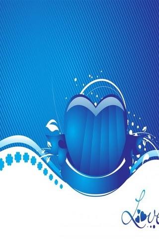 Unduh 700 Wallpaper Biru Cinta HD Terbaik