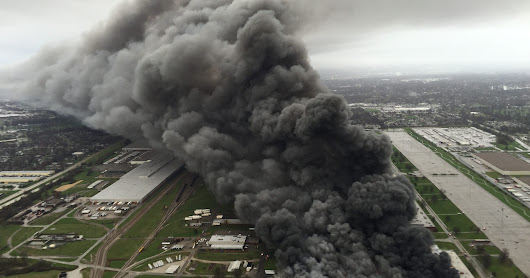 GE fire still burning as nearly 200 battle blaze