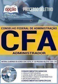 Apostila Processo Seletivo CFA 2018 | ADMINISTRADOR