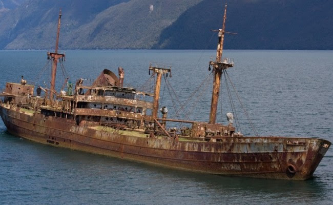 Αποτέλεσμα εικόνας για Πλοίο που χάθηκε πριν 90 χρόνια εμφανίζεται στο Τρίγωνο των Βερμούδων [photo]