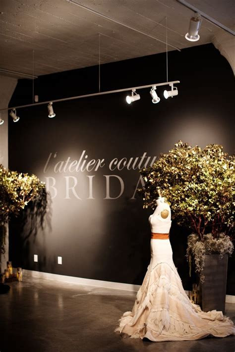 l'atelier couture bridal boutique   photo by photogen inc