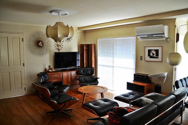 Mid-century - Modern - Living Room