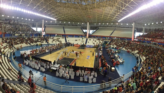 Flamengo x Vasco returno NBB Arena Amadeu Teixeira Manaus (Foto: Gabriel Mansur)