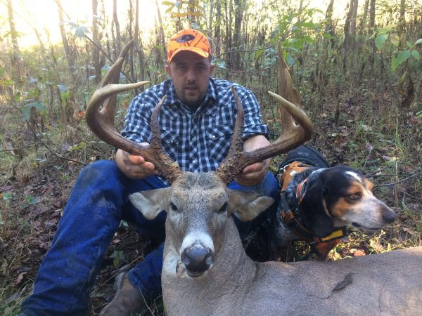 Trophy 8 Point Buck Goes Down In Vance County