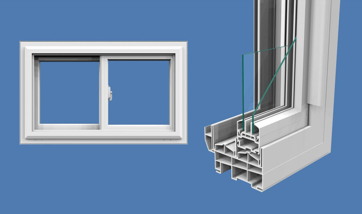 Crusader Slider Window Northeast Building Products