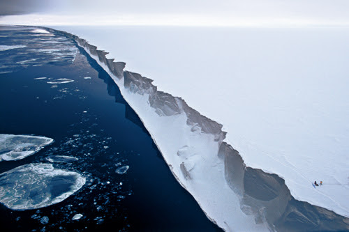 Resultado de imagen de barrera de hielo de ross