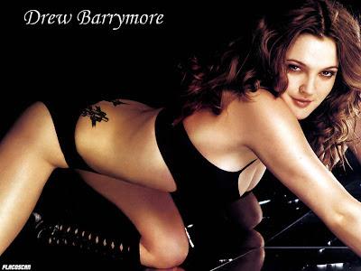 drew barrymore topless