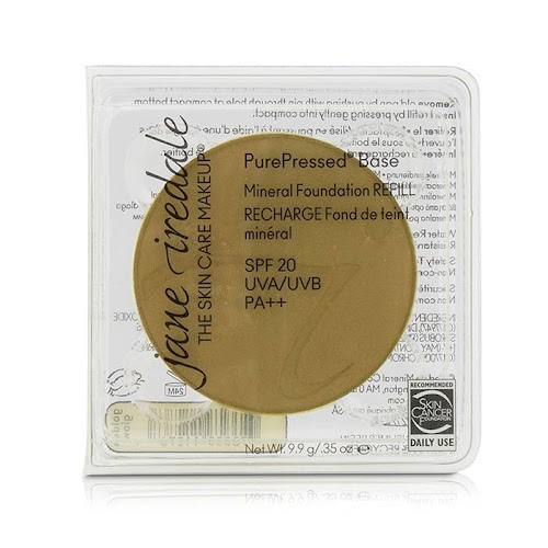 Jane Iredale PurePressed Base Mineral Foundation Refill, SPF 20, golden glow - 0.35 oz total