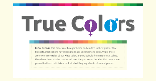 A Breakdown of Color Preferences by Gender - An Infographic