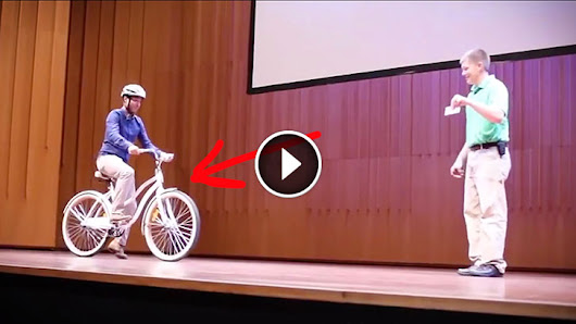 Everyone Failed To Ride This Bicycle. The Reason Behind Is Mind-Boggling