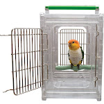 Perch and Go Polycarbonate Bird Carrier