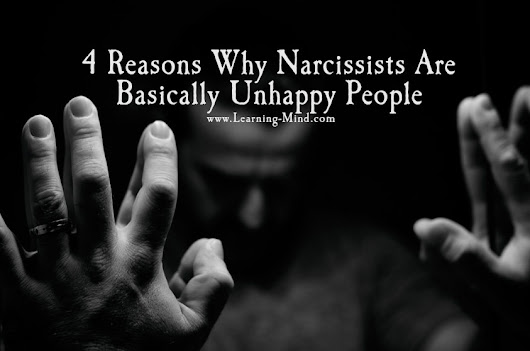 4 Reasons Why Narcissists Are Basically Unhappy People