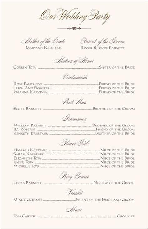Best 25  Program template ideas on Pinterest   Wedding
