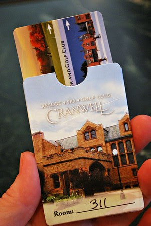 Key Card Holder for the Cranwell Resort, Spa, and Golf Club
