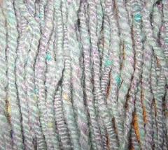 Handspun Coil Yarn: Viola Ville