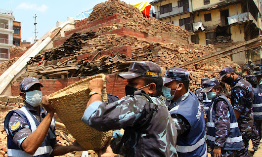 Nepal hit by 7.4-magnitude earthquake near Mount Everest