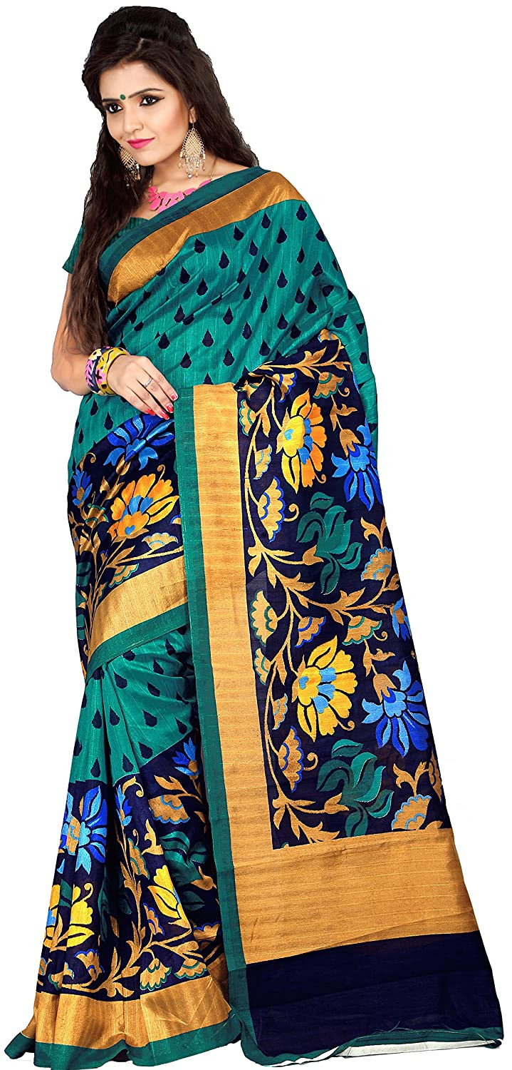 Samskruti Sarees Women's Raw Silk Saree
