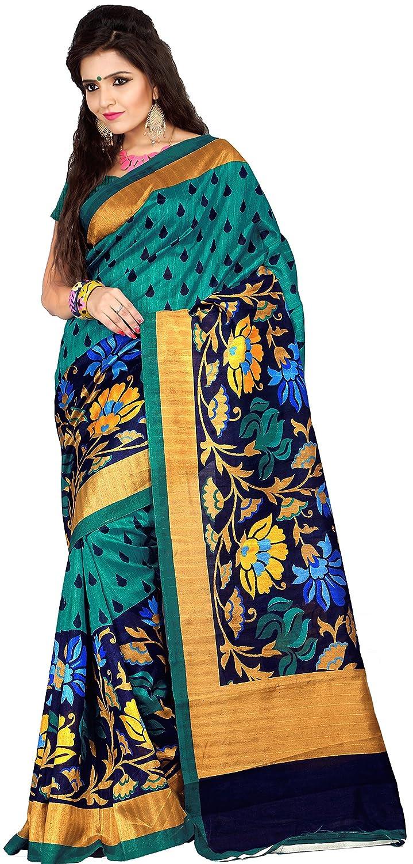 Samskruti Sarees Women's Raw Silk Saree